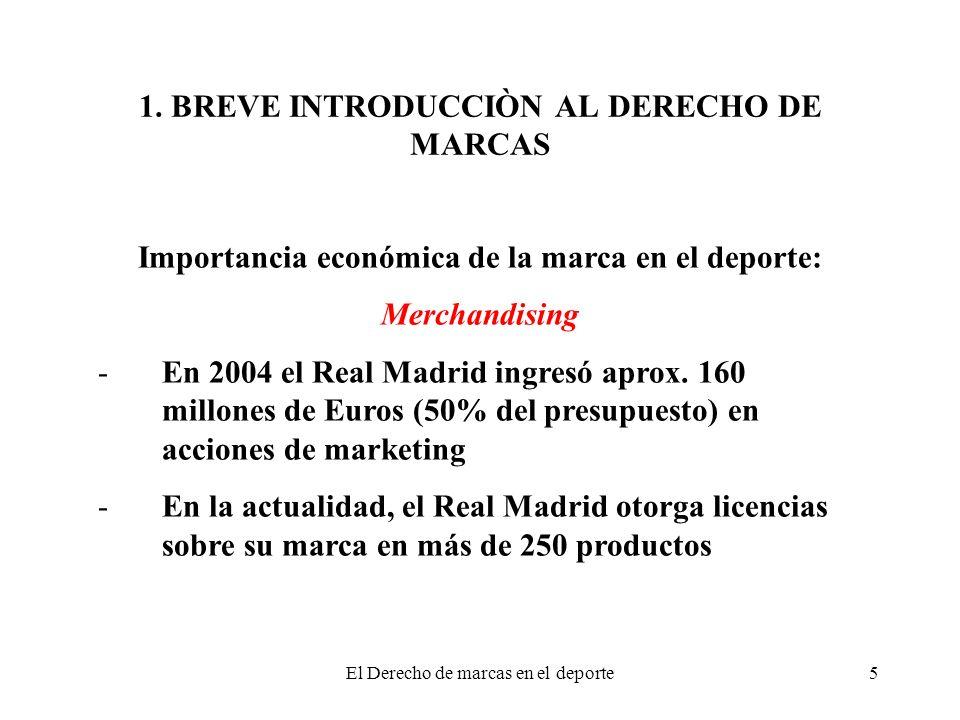 1. BREVE INTRODUCCIÒN AL DERECHO DE MARCAS