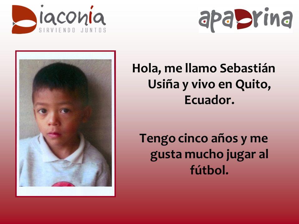 Hola, me llamo Sebastián Usiña y vivo en Quito, Ecuador.