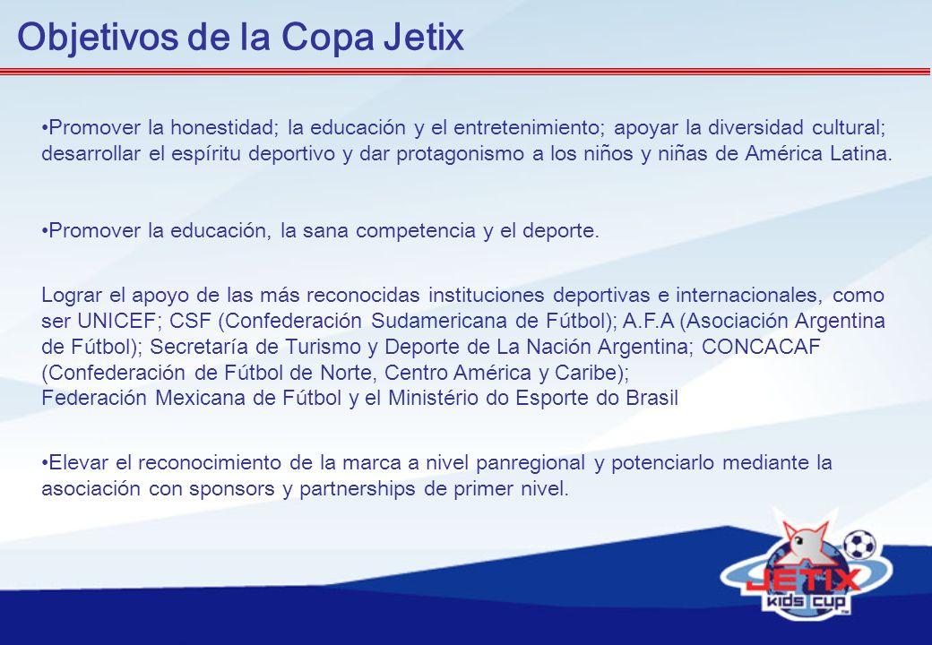 Objetivos de la Copa Jetix