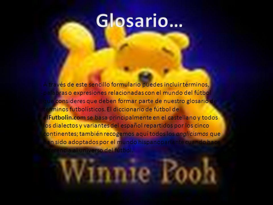 Glosario…