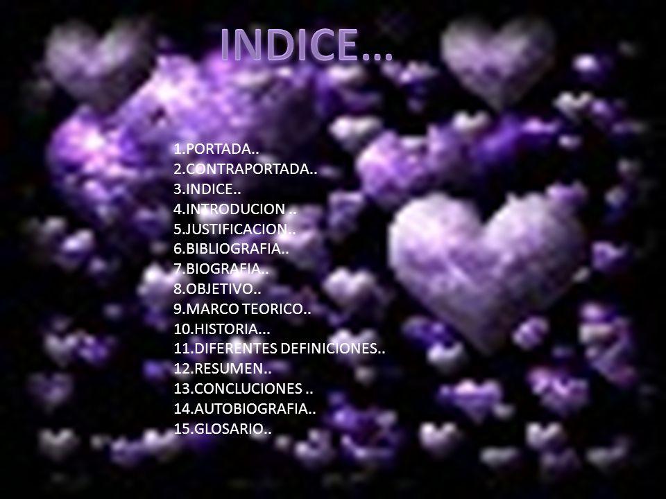 INDICE… 1.PORTADA.. 2.CONTRAPORTADA.. 3.INDICE.. 4.INTRODUCION ..