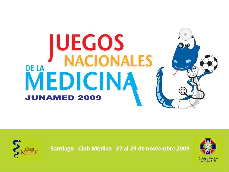Santiago - Club Médico - 27 al 29 de noviembre 2009