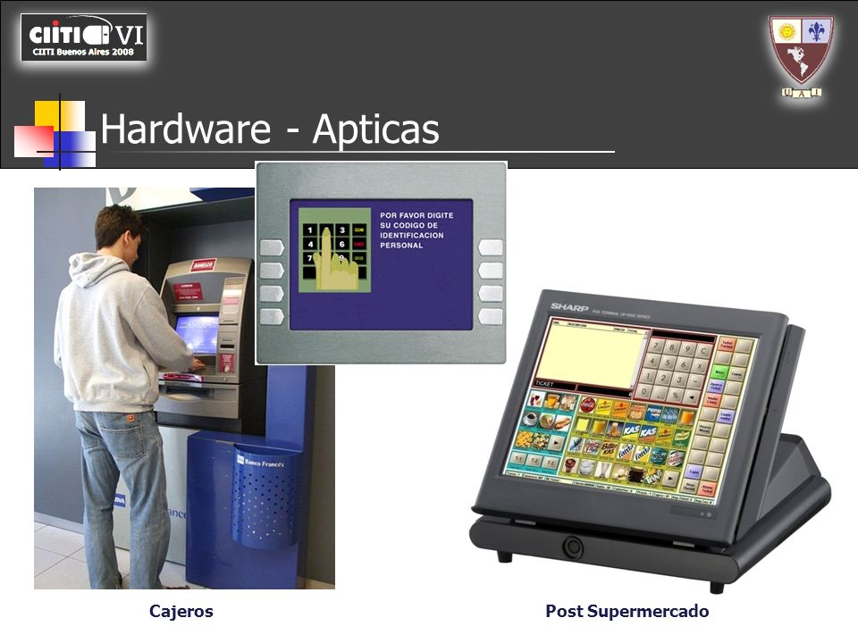 Hardware - Apticas Cajeros Post Supermercado
