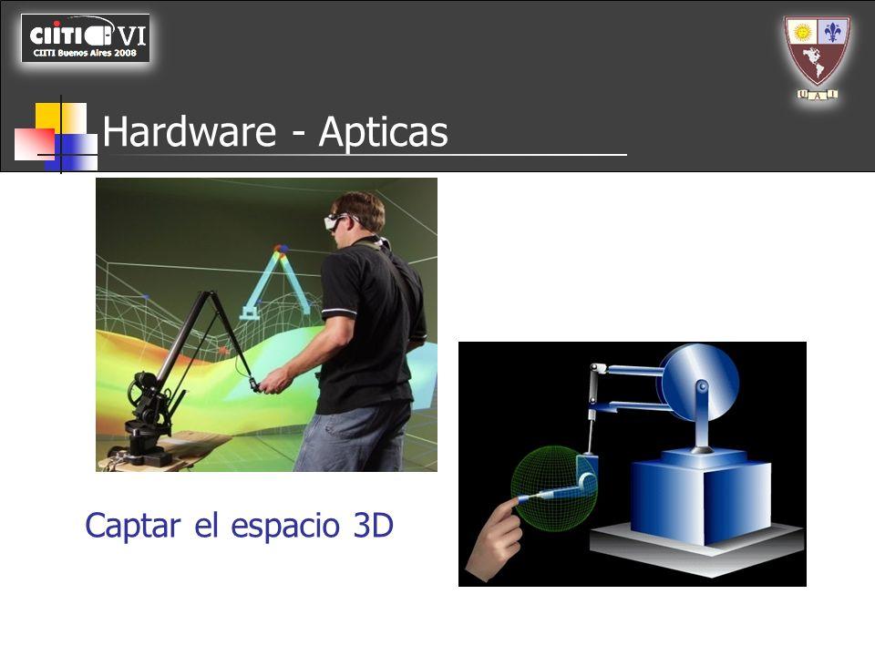 Hardware - Apticas Captar el espacio 3D