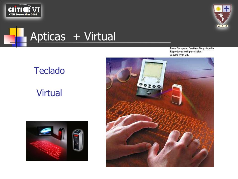 Apticas + Virtual Teclado Virtual