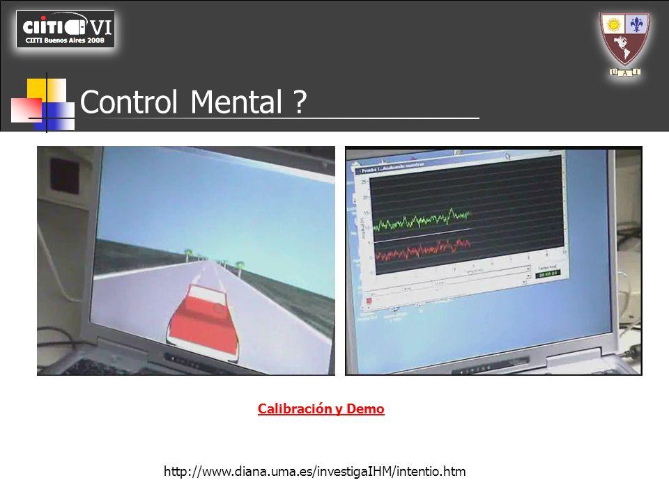 Control Mental Calibración y Demo