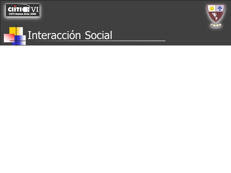 Interacción Social Dispositivos inteligentes (Contienen programación)