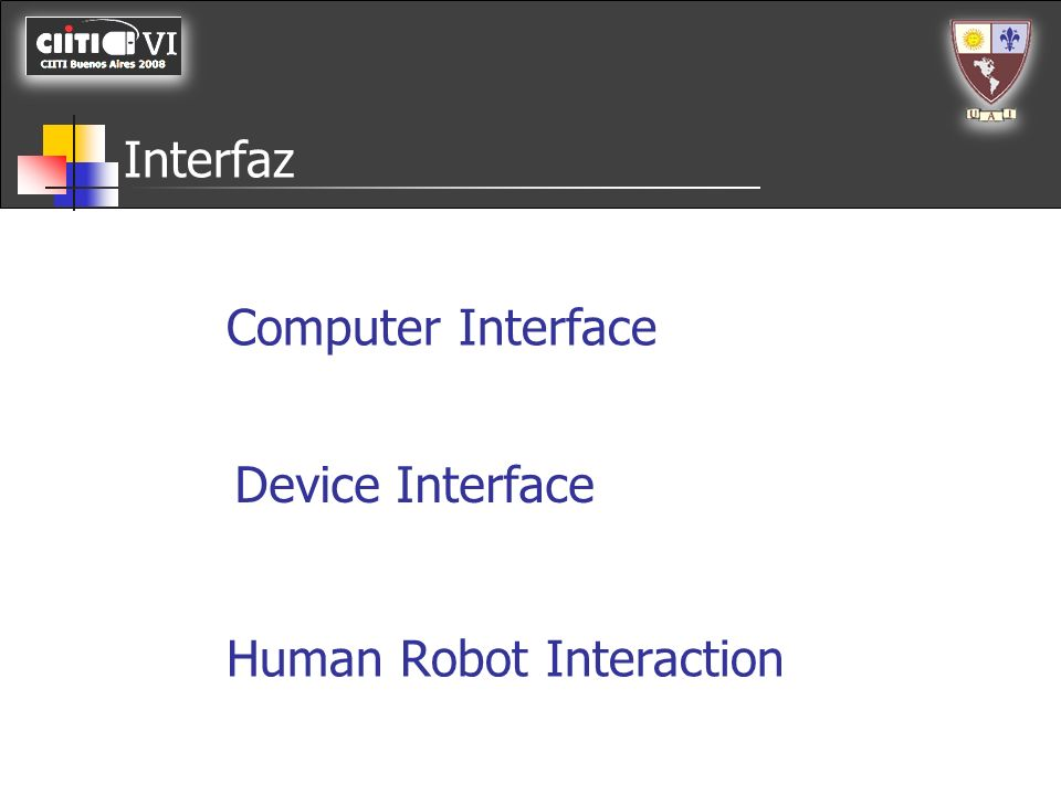 Interfaz Computer Interface Device Interface Human Robot Interaction