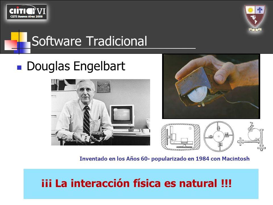 Software Tradicional Douglas Engelbart