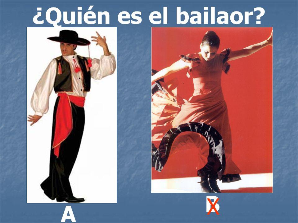 ¿Quién es el bailaor B X A
