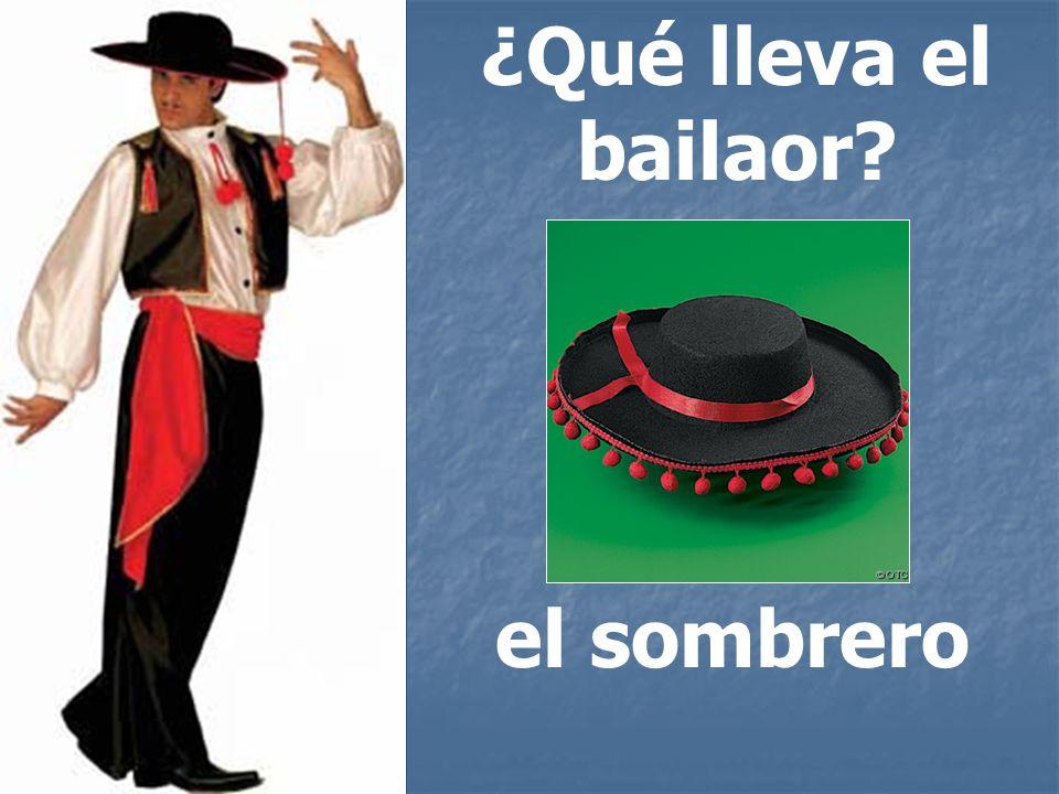 ¿Qué lleva el bailaor el sombrero
