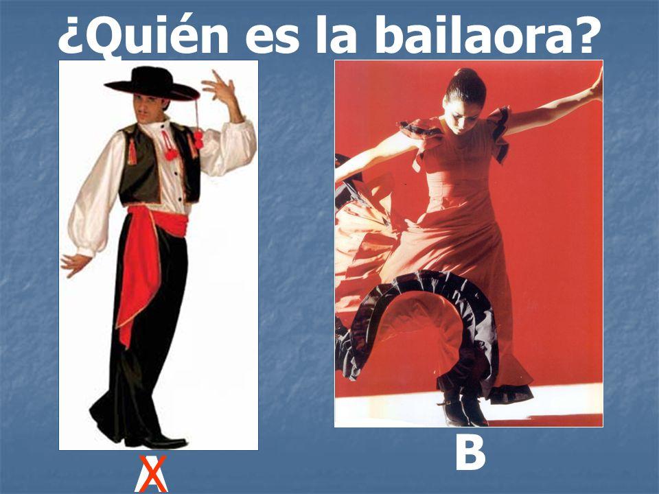 ¿Quién es la bailaora B A X