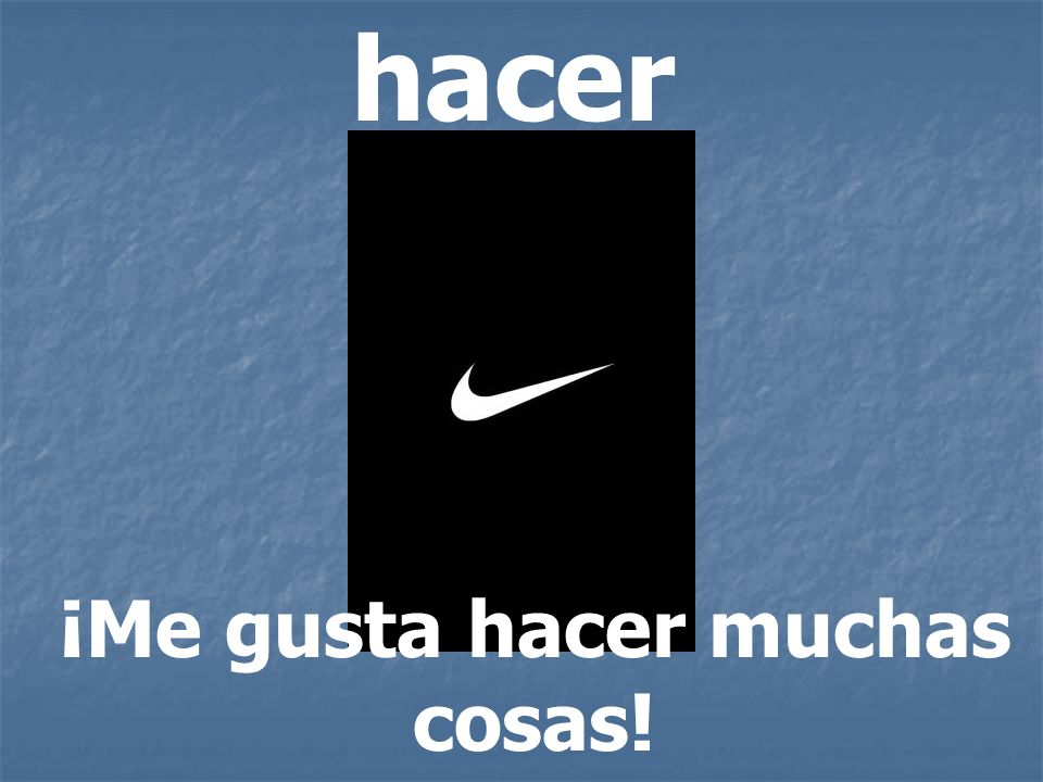 ¡Me gusta hacer muchas cosas!