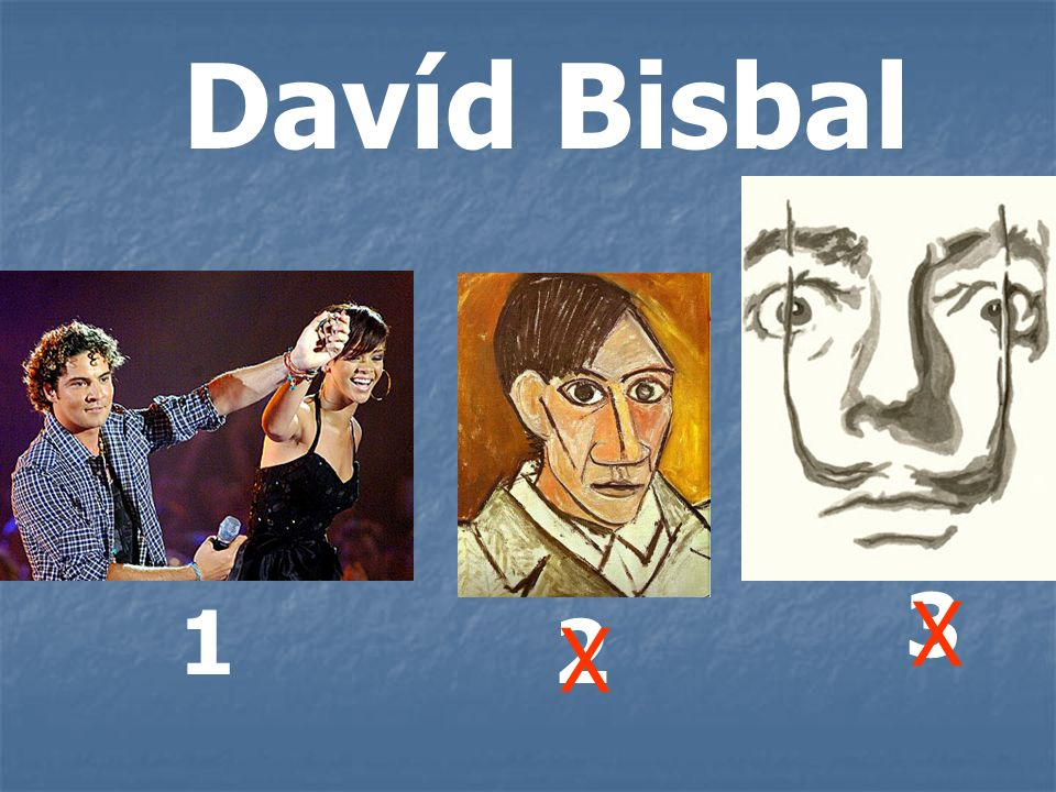 Davíd Bisbal 3 X 1 2 X
