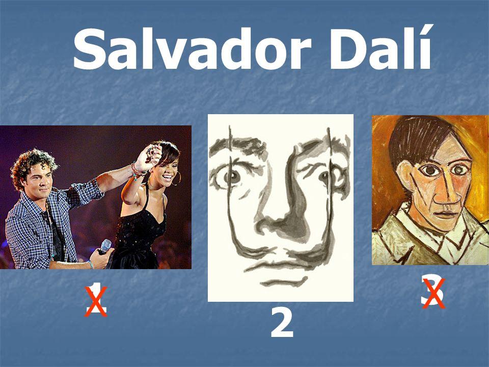 Salvador Dalí 3 X 1 X 2