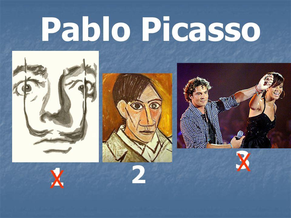Pablo Picasso 3 X 2 1 X