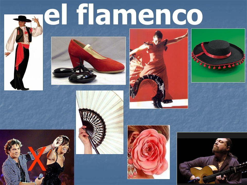 el flamenco X