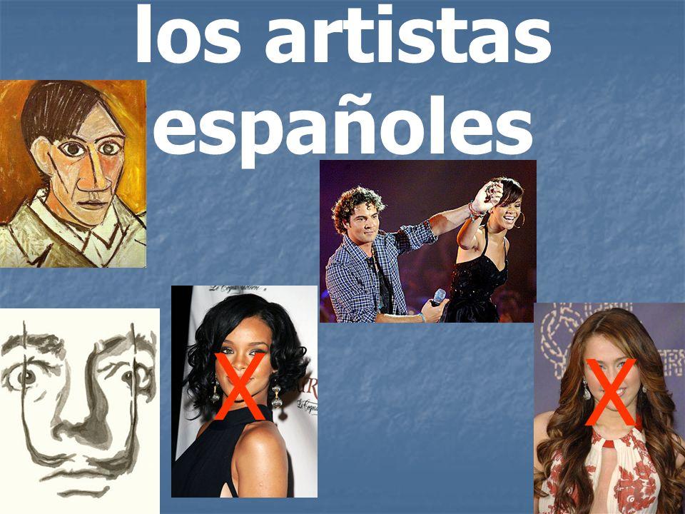 los artistas españoles