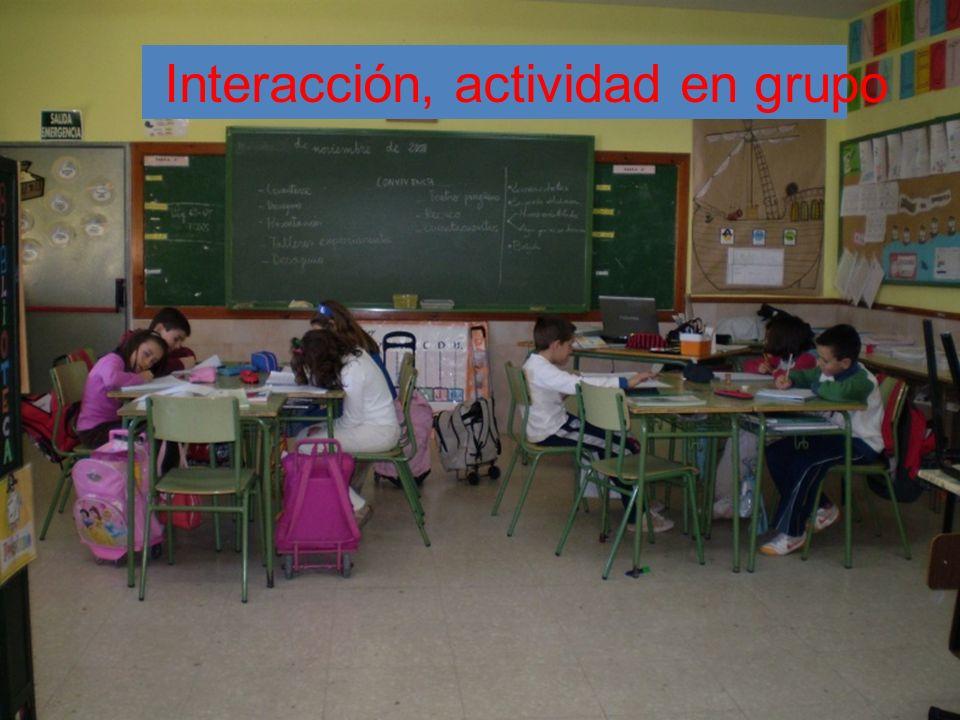 Interacción, actividad en grupo