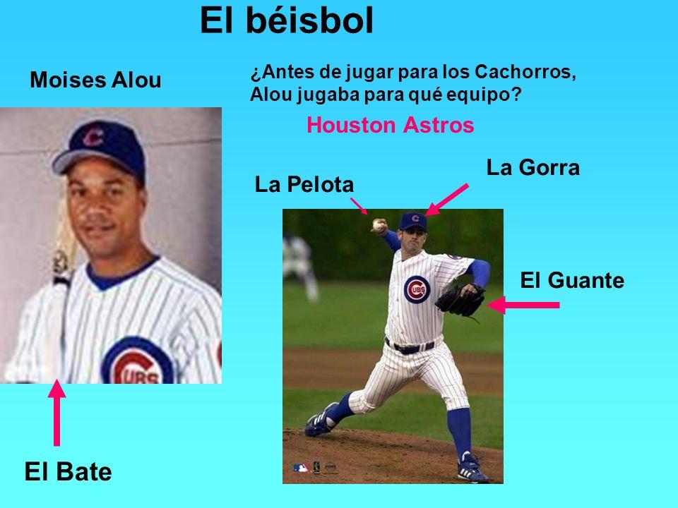 El béisbol El Bate Moises Alou Houston Astros La Gorra La Pelota
