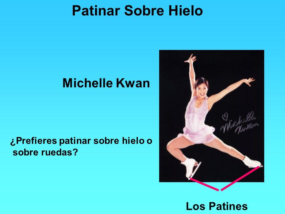 Patinar Sobre Hielo Michelle Kwan Los Patines