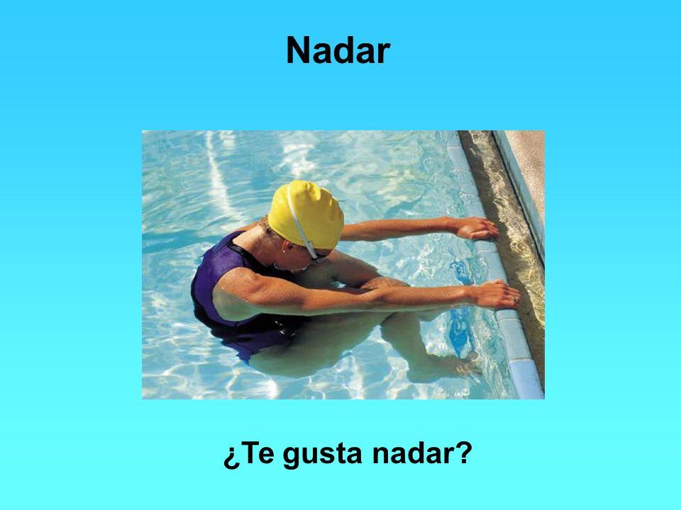 Nadar ¿Te gusta nadar
