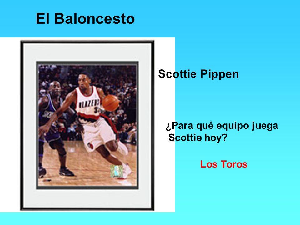 El Baloncesto Scottie Pippen ¿Para qué equipo juega Scottie hoy