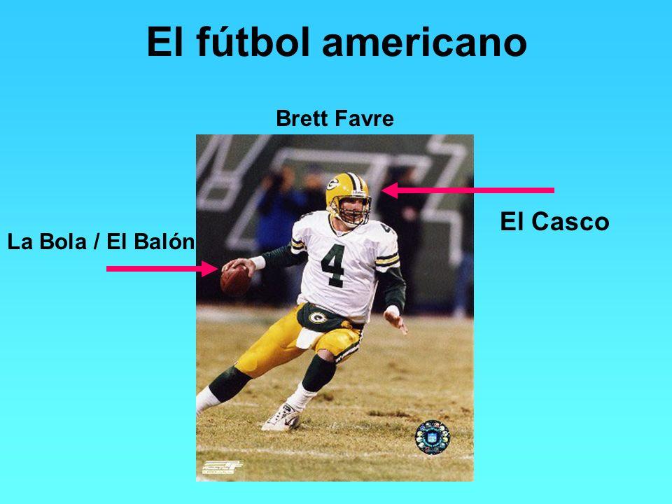 El fútbol americano Brett Favre El Casco La Bola / El Balón