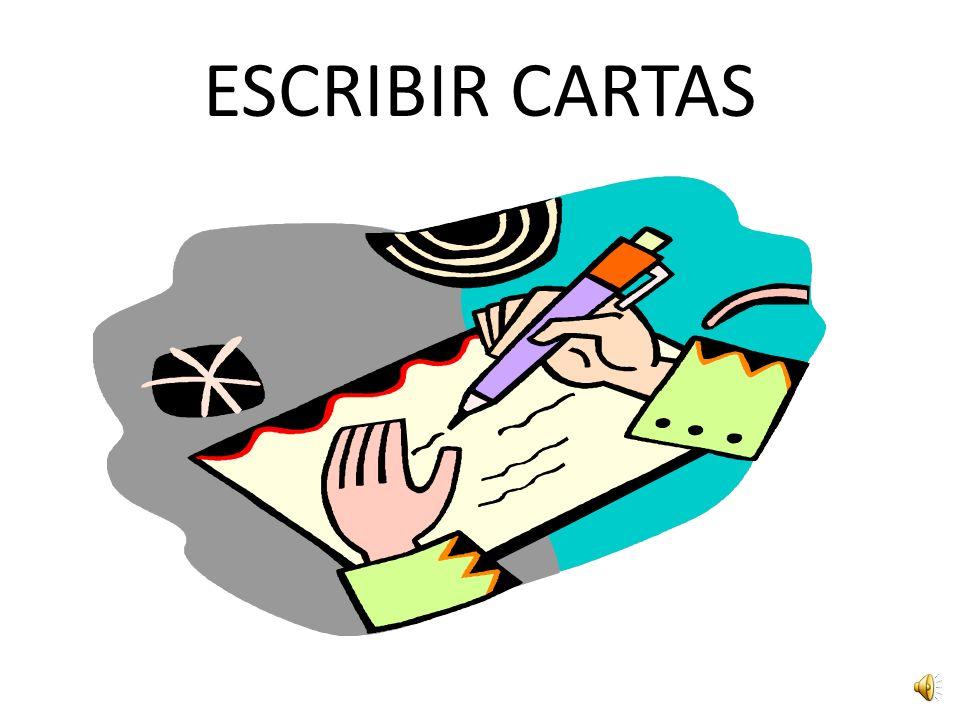ESCRIBIR CARTAS