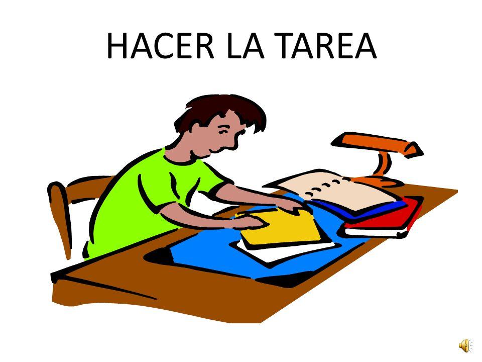 HACER LA TAREA
