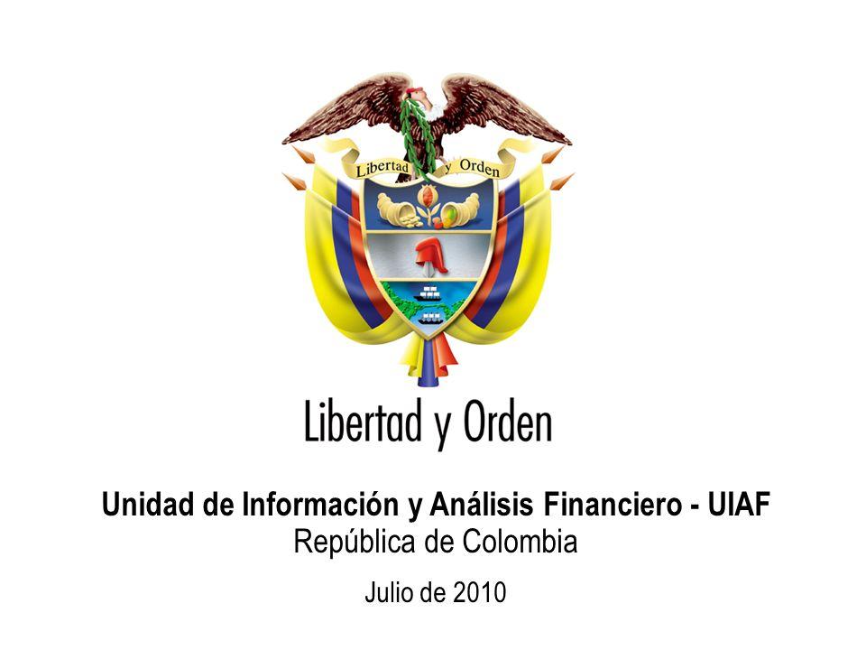 Unidad de Información y Análisis Financiero - UIAF República de Colombia