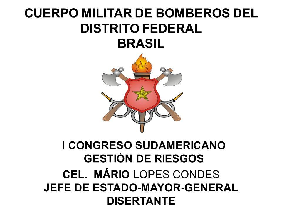 CUERPO MILITAR DE BOMBEROS DEL DISTRITO FEDERAL BRASIL