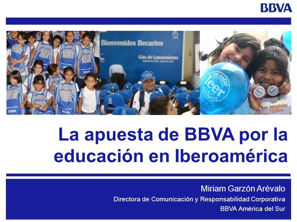 La apuesta de BBVA por la educación en Iberoamérica