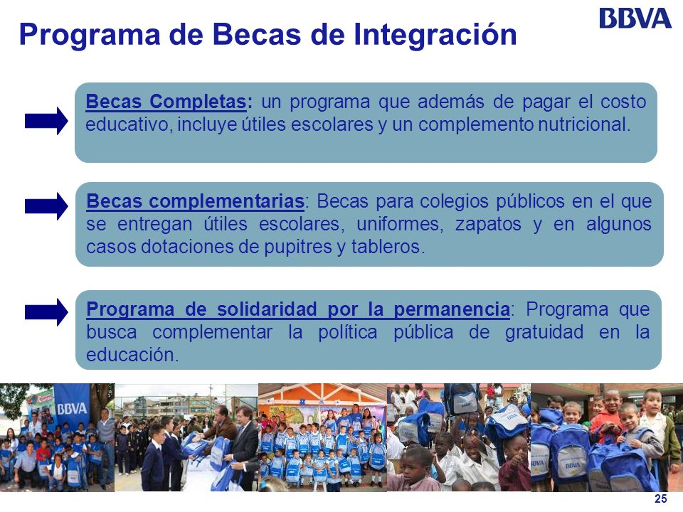 Programa de Becas de Integración