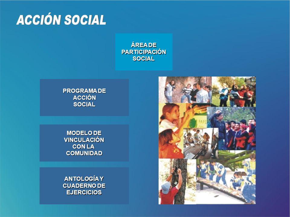 ACCIÓN SOCIAL ÁREA DE PARTICIPACIÓN SOCIAL PROGRAMA DE ACCIÓN SOCIAL