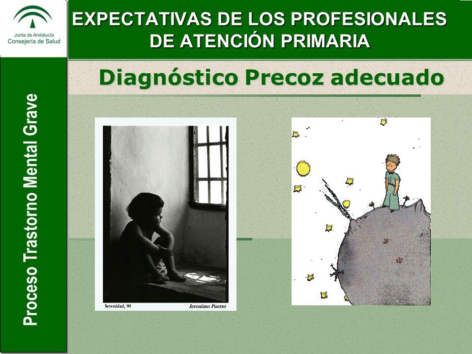 EXPECTATIVAS DE LOS PROFESIONALES DE ATENCIÓN PRIMARIA