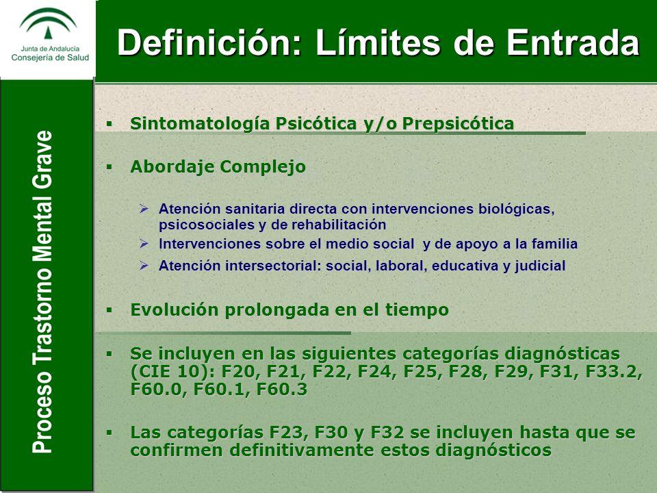Definición: Límites de Entrada