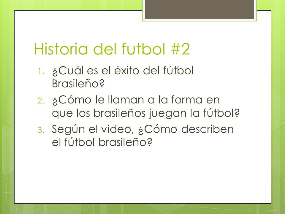 Historia del futbol #2 ¿Cuál es el éxito del fútbol Brasileño