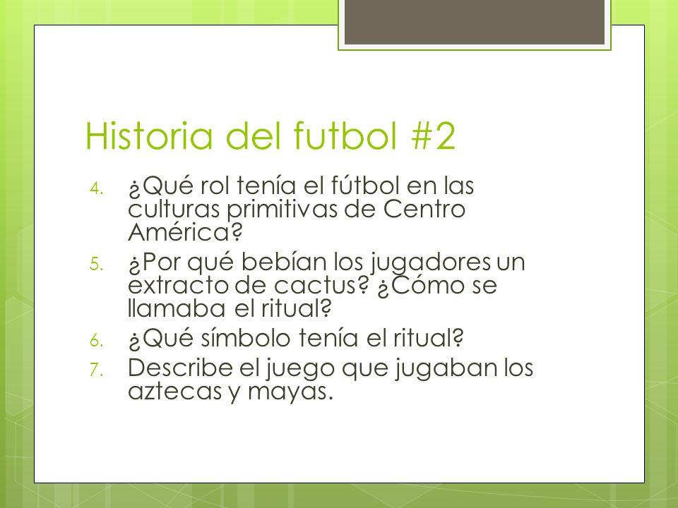 Historia del futbol #2 ¿Qué rol tenía el fútbol en las culturas primitivas de Centro América