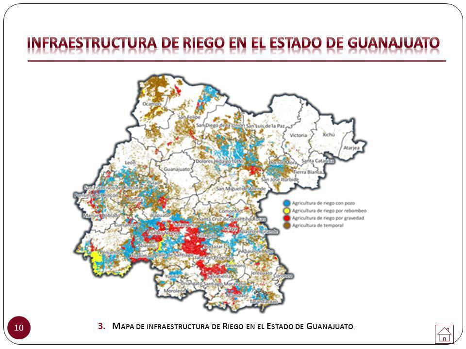 INFRAESTRUCTURA DE RIEGO EN EL ESTADO DE GUANAJUATO