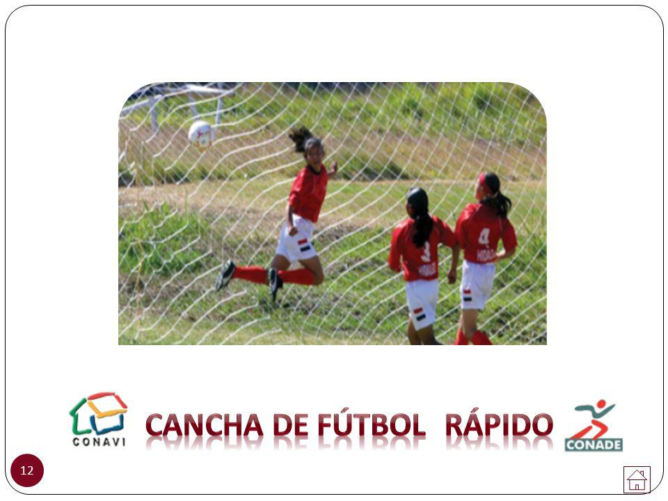 CANCHA DE Fútbol RÁPIDO