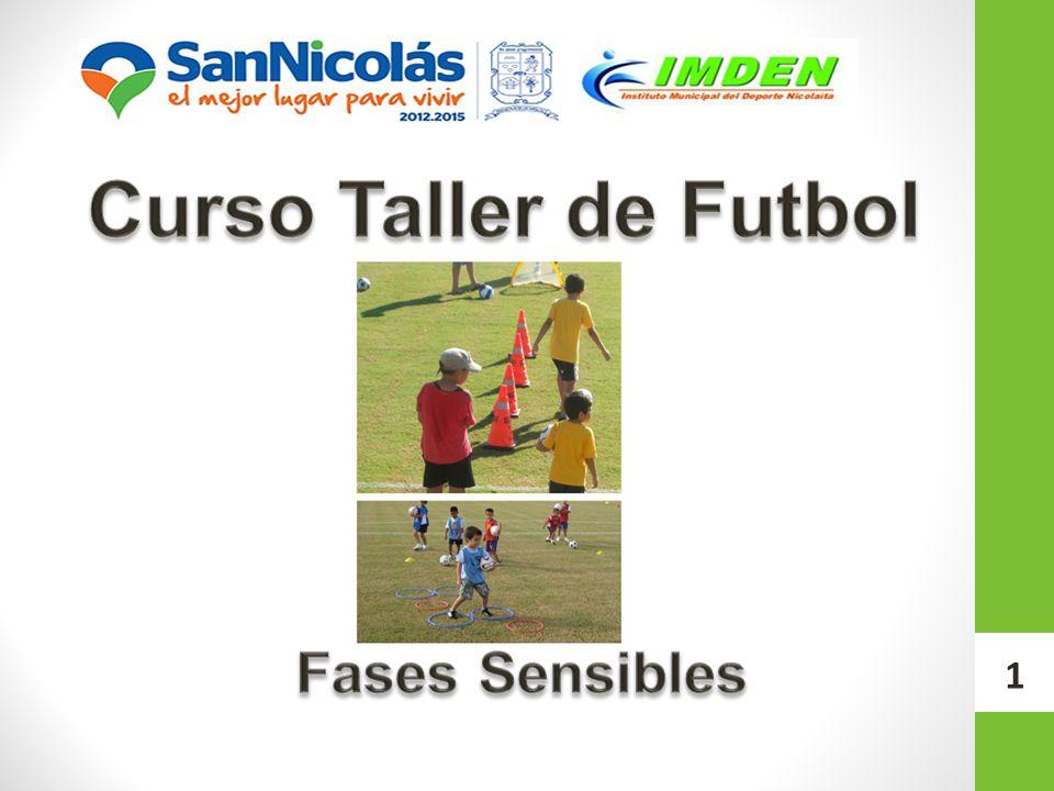 Curso Taller de Futbol Fases Sensibles