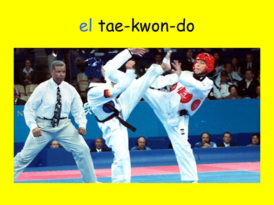 el tae-kwon-do
