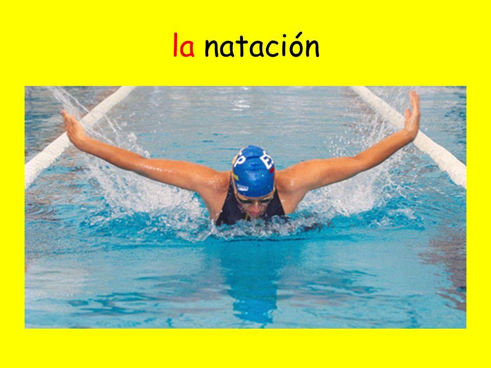 la natación