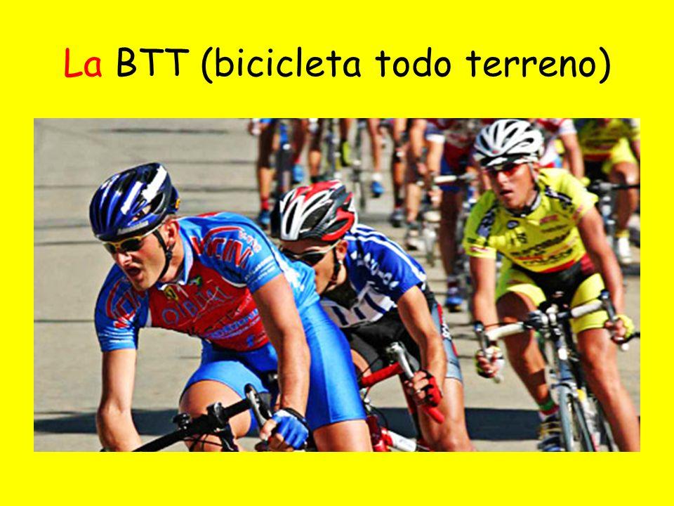 La BTT (bicicleta todo terreno)