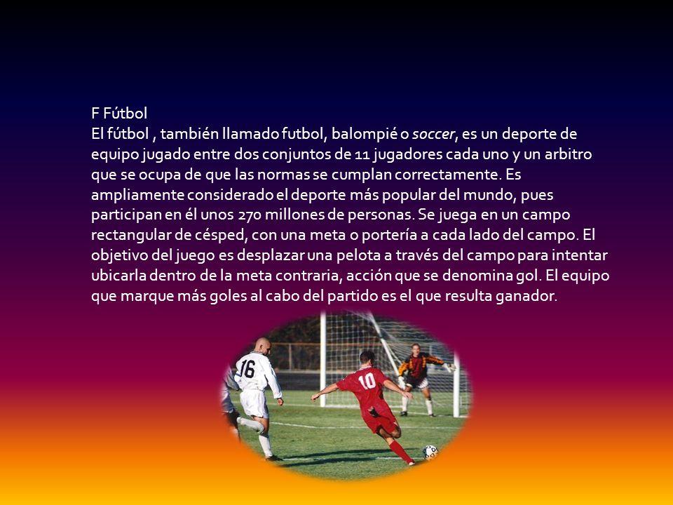 F Fútbol