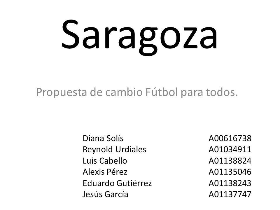 Propuesta de cambio Fútbol para todos.