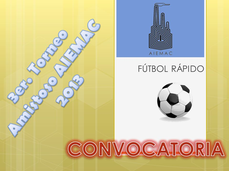3er. Torneo Amistoso AIEMAC 2013