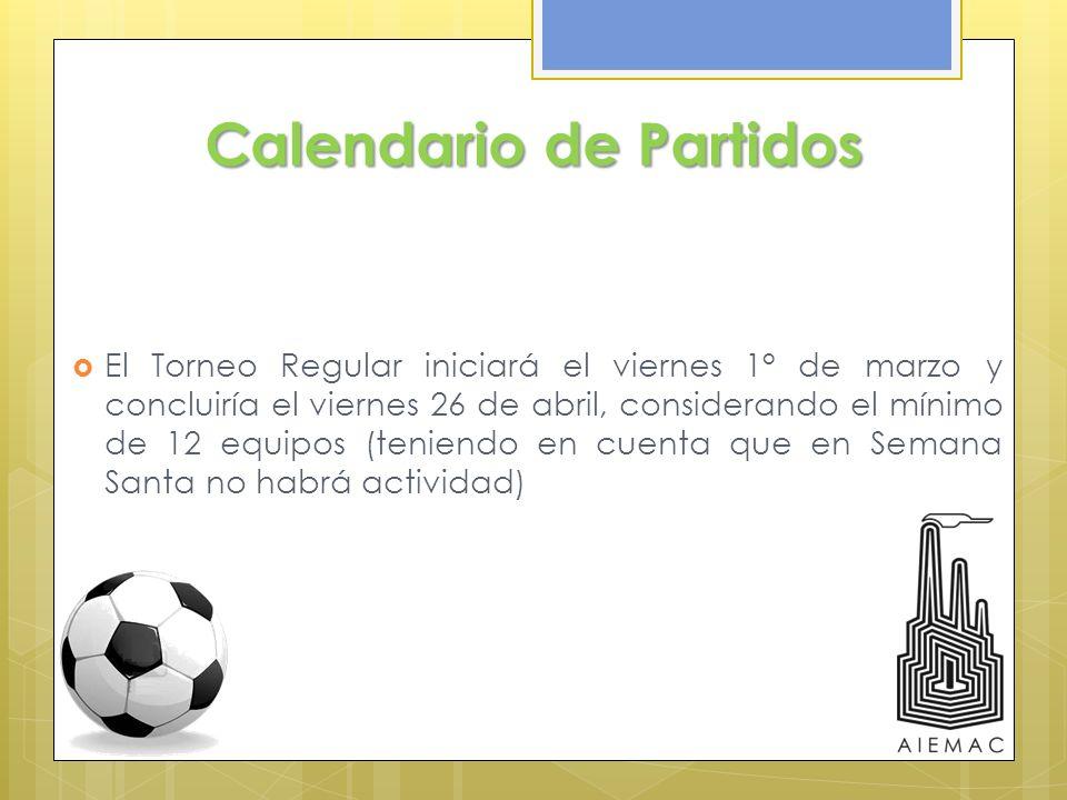 Calendario de Partidos
