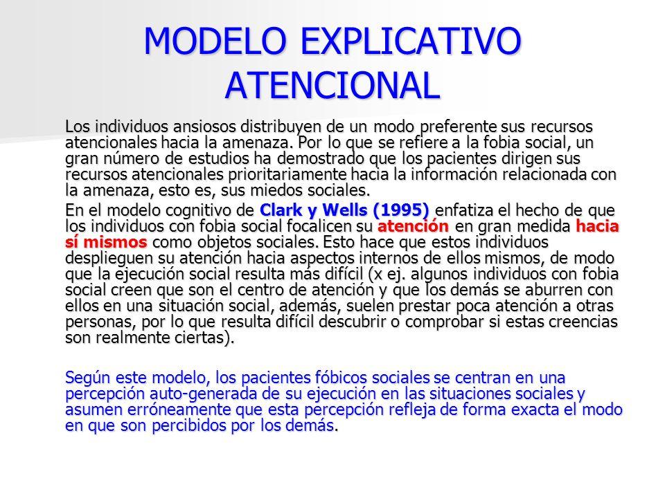MODELO EXPLICATIVO ATENCIONAL